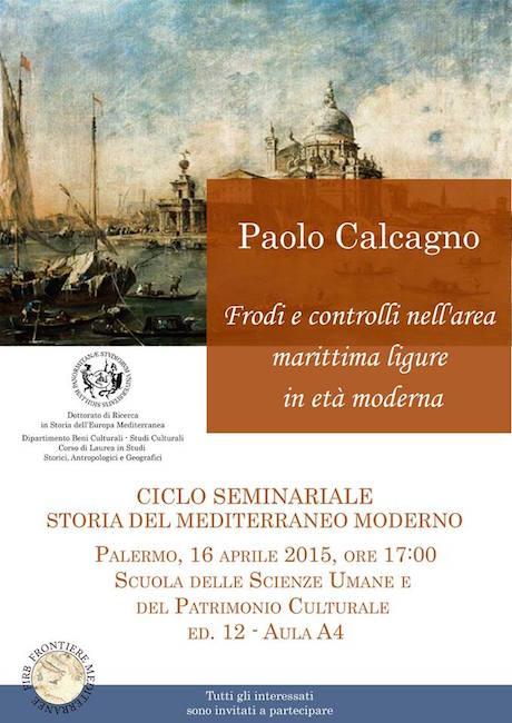 16.4.2015 a Palermo Frodi e controlli nell'area maittima ligure moderna - www.lavocedelmarinaio.com
