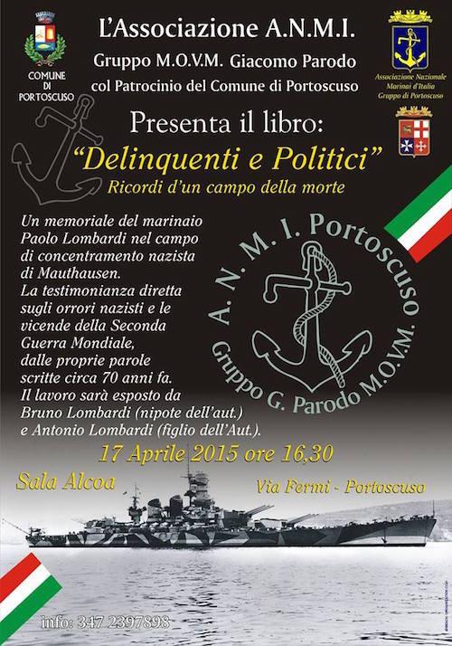 17.4.2015 a Portoscuso resentazione del libro delinquenti e politici - www.lavocedelmarinaio.com