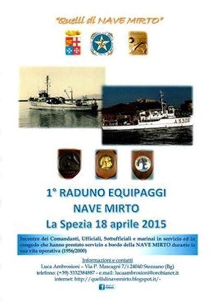 18.4.2015 1° RADUNO EQUIPAGGI NAVE MIRTO - www.lavocedelmarinaio.com