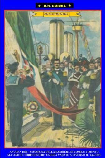 23.4.1891 regia nave Umbria - www.lavocedelmarinaio.com - Copia