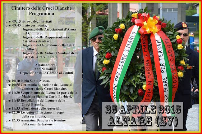 25.4.2014 ad Altare Savona - www.la vocedelmarinaio.com