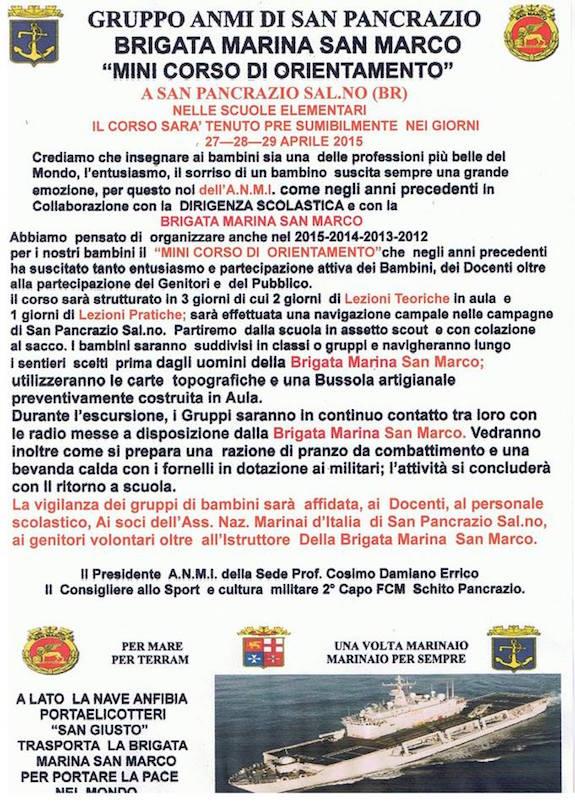 27-29.4.2015 a San Pancrazio Salentino - www.lavocedelmarinaio.com