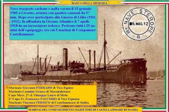 7.4.1918 nave sterope - www.lavocedelmarinaio.com