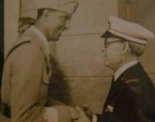Il principe Umberto  ed il nocchiere Volpe - www.lavocedelmarinaio.com