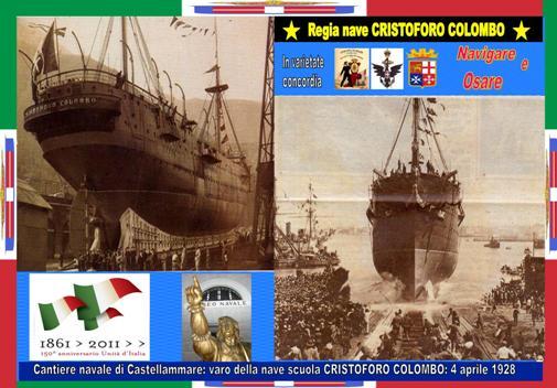 Nave COLOMBO varo - www.lavocedelmarinaio.com