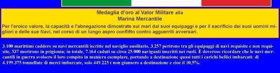 Onore ai 3100 marittimi della Marina mercantile che morirono enella 2^ guerra mondiale - www.lavocedelmarinaio.com