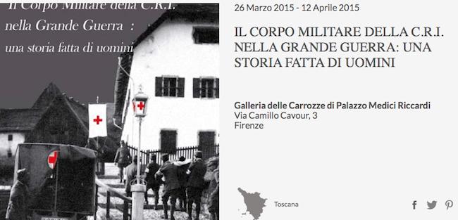 fino al 12.4.2015 a Firenze mostra sulla C.R.I. - www.lavocedelmarinaio.com