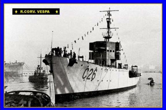 regia corvetta Vespa - www.lavocedelmarinaio.com