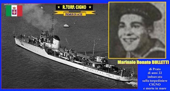 regio cacciatorpediniere Cigno - www.lavocedelmarinaio.com