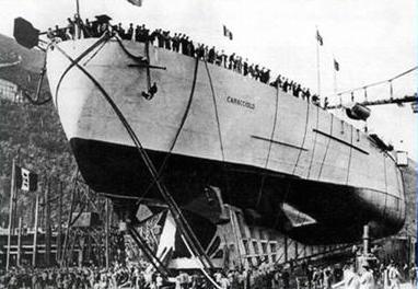 12 maggio 1915 varo regia nave Caracciolo - www.lavocedelmarinaio.com copia