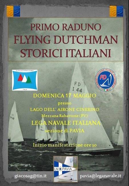 17.5.2015 a Mezzana Rabattone 1° raduni Flying Dutchman storici italiani - www.lavocedelmarinaio.com
