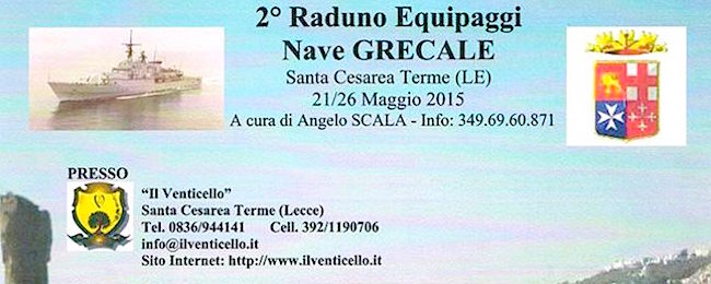 21-26.5.2015 a Santa Cesarea Terme (LE) 2° raduno equipaggi nave Grecale - www.lavocedelmrinaio.com