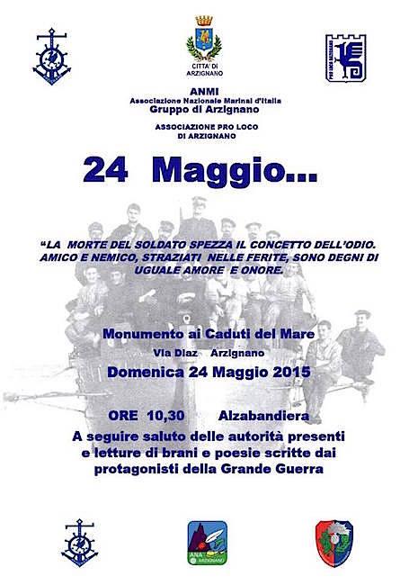 24.5.2015 ad Arzignano - www.lavocedelmarinaio.com