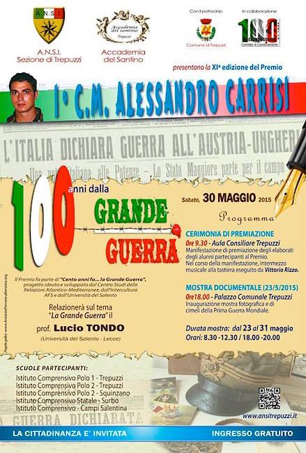 30.5.2015 a Trepuzzi 100 anni grande guerra - www.lavocedelmarinaio.com