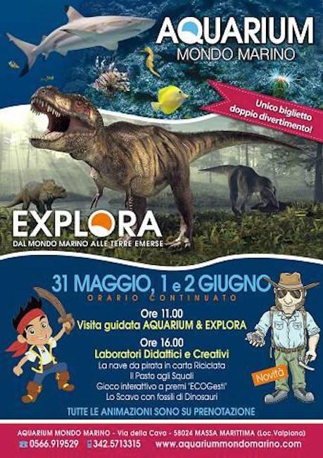 31.5-2.6.2015 Aquarium mondo Marino - www.lavocedelamrinaio.com