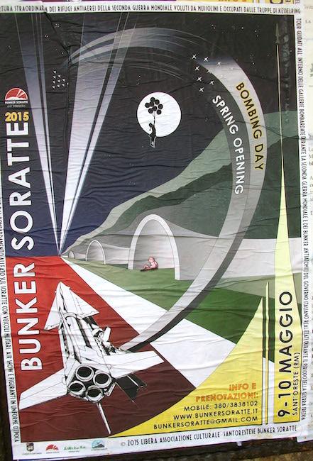 9-10.5.2015 Apertura straordinaria bunker del Soratte (Sant'Oreste - Roma) - www.lavocedelmarinaio.com