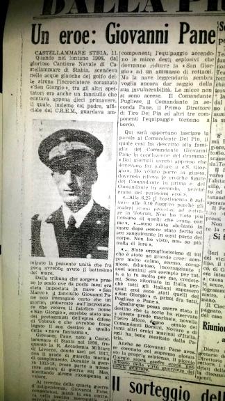 Giornale D'Italia - dalla Provincia di Napoli - del 12 Marzo 1941