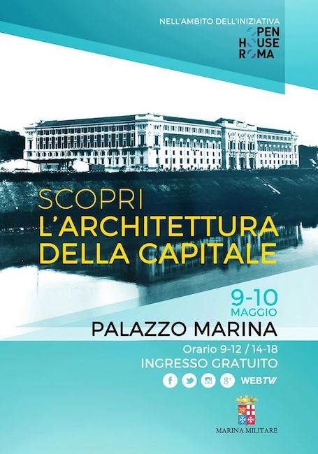 Palazzo Marina open house 9 e 10 maggio 2015 - www.lavocedelmarinaio.com