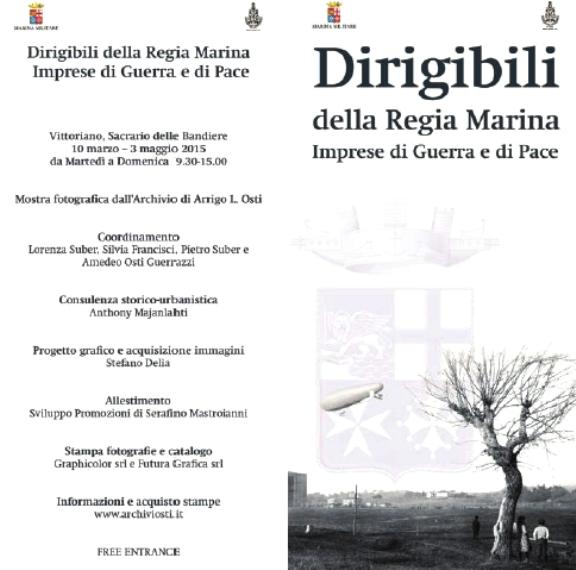 fno al 3.5.2015 dirigibili della marina militare  Roma al Vitoriano - www.lavocedelmarinaio.com