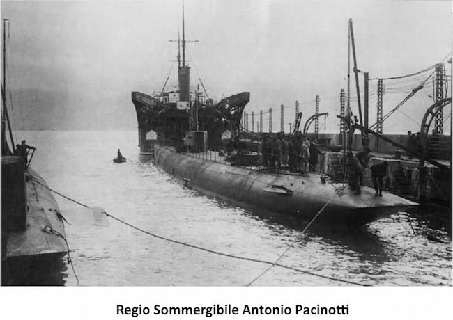 Regio sommergibile Pacinotti - www.lavocedelmarinaio.com