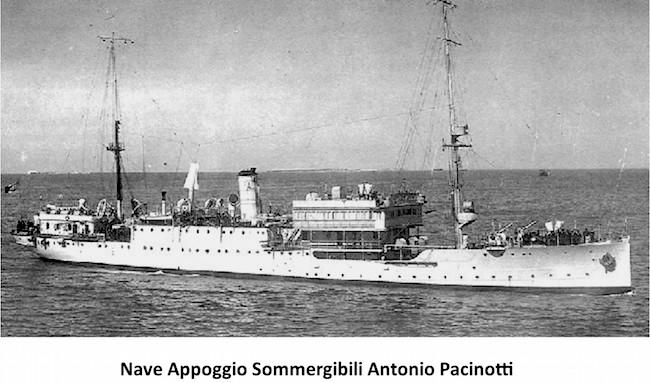 regia nave Pacinotti - www.lavocedelmarinaio.com