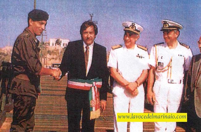 19.6.1990 ripristino delponte fra La Maddalena e Caprera - www.lavocedelmarnaio.com