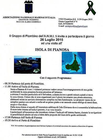 26.7.2015 a Pianosa - www.lavocedelmarinaio.com