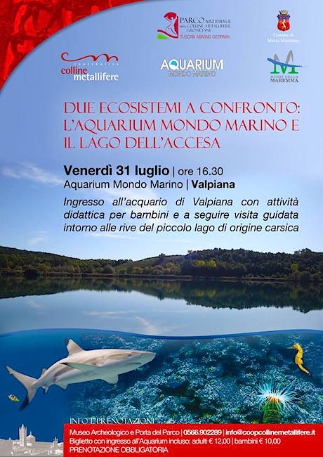31.7.2015  all'aquarium mondo marino - www.lavocedelmarinaio.com