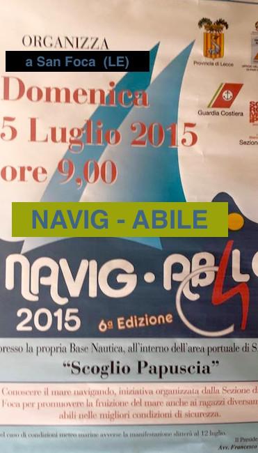 5.7.2015 a San Foca NAVIG - ABILE - www.lavocedelmarinaio.com