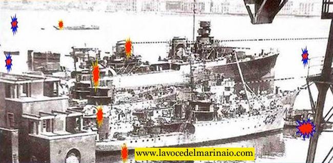 10.8.1943 il bombardamento del cantiere di Castellammare di Stabia - www.lavocedelmarinaio.com
