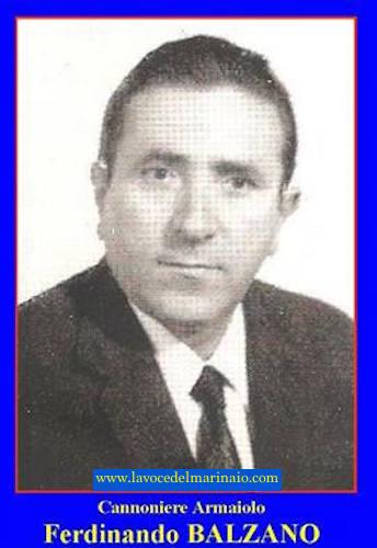 14.8.1943  Balzano  Ferdinando - www.lavocedelmarinaio.com