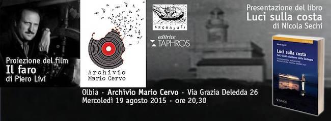19.8.2015 a Olbia presentazione del libro Luci sulla costa diNicola Sechi -www.lavocedelmarinaio.com
