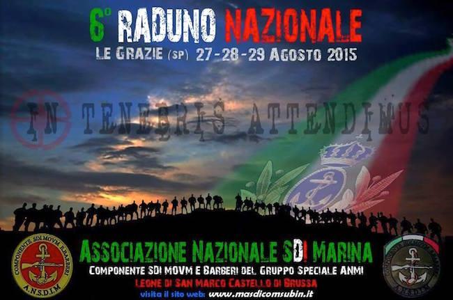 27-29.8.2015 a Le Grazie 6° raduno nazionale SDI Marina - www.lavocedelmarinaio.com