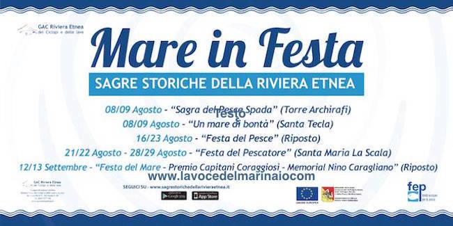 28-29.8.2015 + 12-13.9.2015 mare in festa in Sicilia - www.lavocedelmarinaio.com agosto