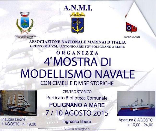 7-10.8.2015 a Polignano a Mare mostra di modellismo - www.lavocedelmarinaio.com