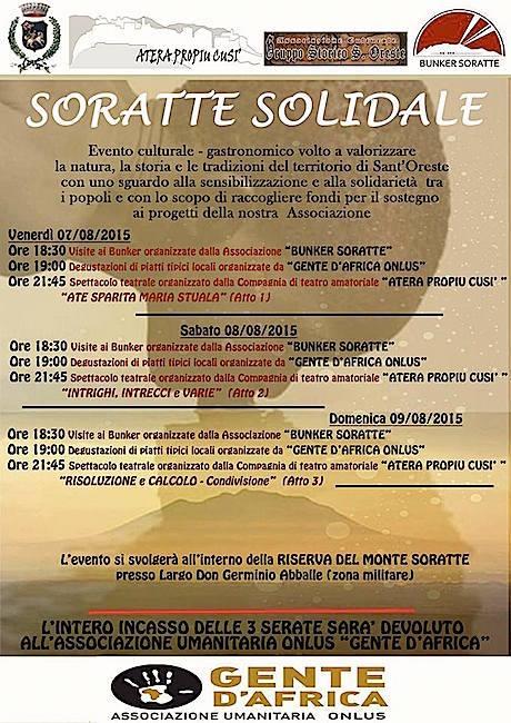 7-8.8.2015 visita al bunker Soratte