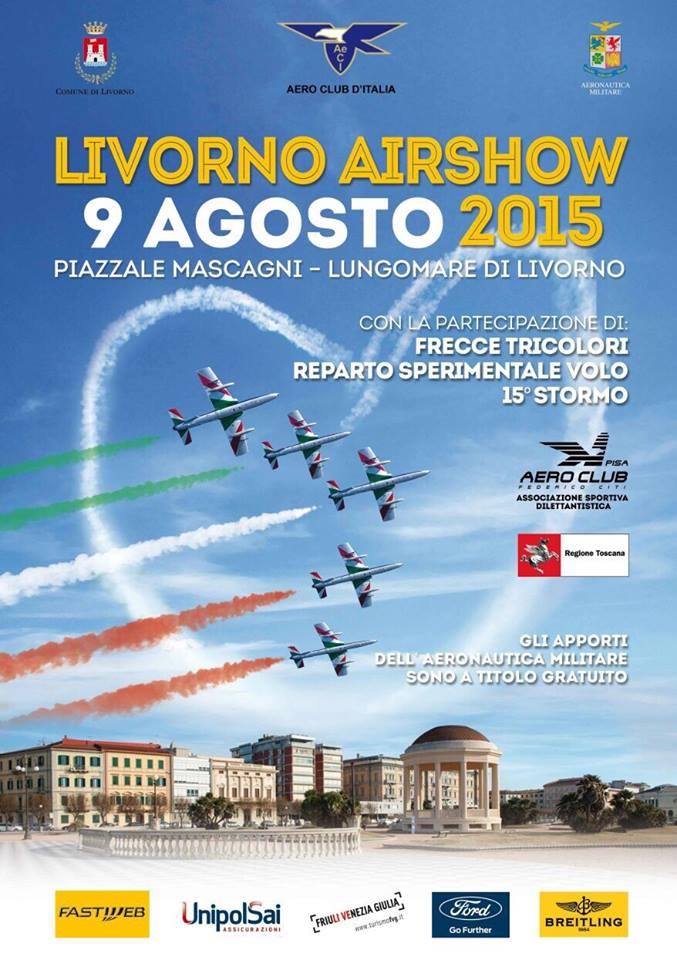 9.8.2015 a Livorno airshow - www.lavocedelmarinaio.com