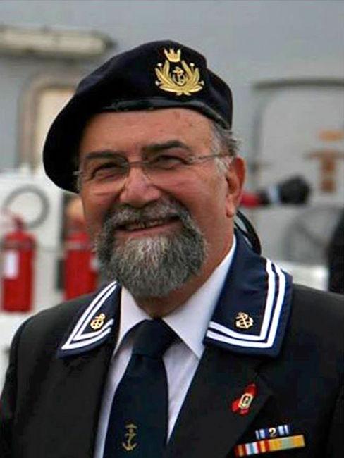 Antonio Cimmino in una recente posa per www.lavocedelmarinaio.com