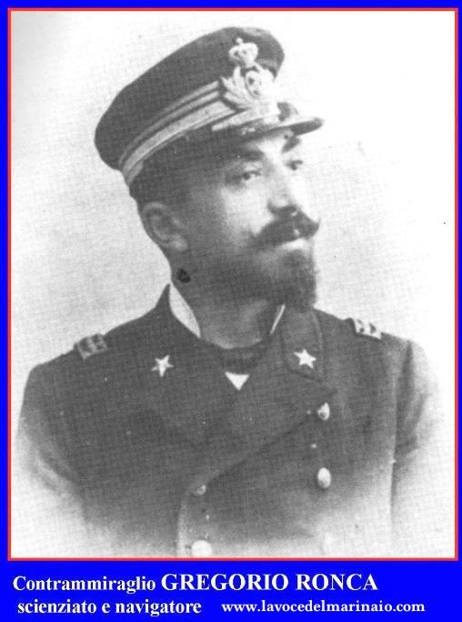 Contrammiraglio Gregorio Ronca 18.8.1911  - www.lavocedelmarinaio.com