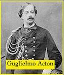 Guglielmo Acton - www.lavocedelmarinaio.com