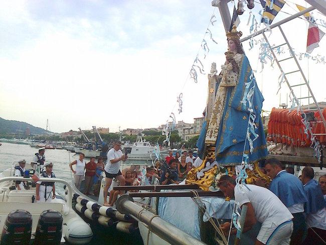 L'imbarco della Madonna di Porto Salvo a Gaeta (2015)