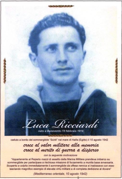 Luca Ricciardi (foto A.N.M.I. Benevento)