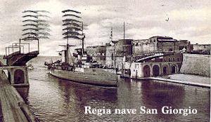 Regia nave San Giorgio - www.lavocedelmarinaio.com