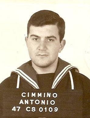 il marinaio Antonio Cimmino matricola 47CS0109 per www.lavocedelmarinaio.com