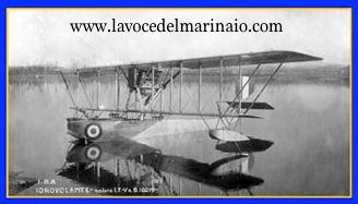 l'idrovolante pilotato da Ettore Iaccarino - www.lavocedelmarinaio.com