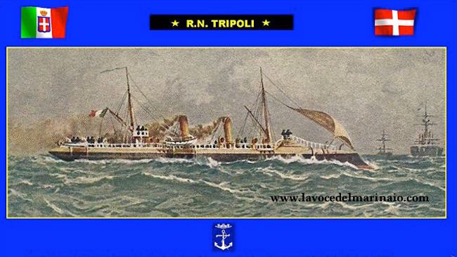 regia nave Tripoli - www.lavocedelmarinaio.com