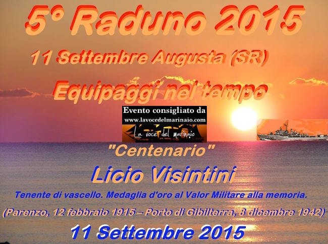 11.9.2015 5° raduno equipaggi nave Visintini - www.lavocedelmarinaio.com