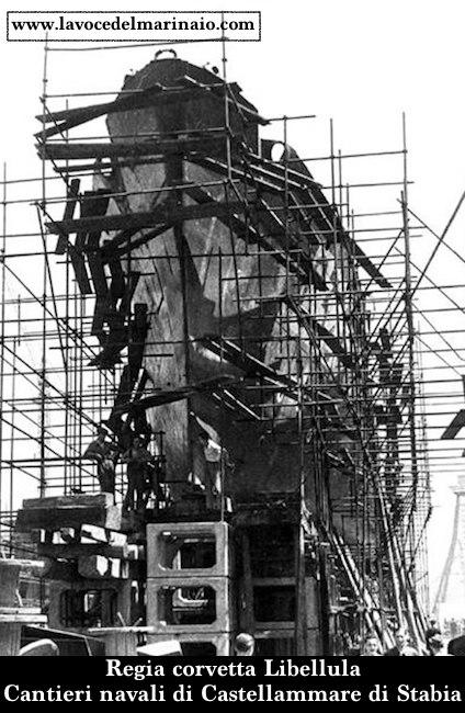 13 settembre 1943 Corvetta Libellula - www.lavocedelmarinaio.com