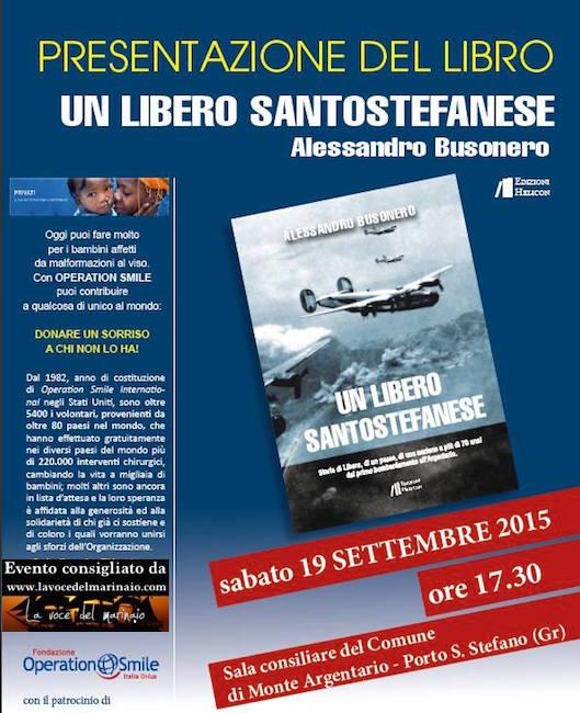 19.9.2015 a Porto S. Stefano presentazione del libro un libero santostefanese di Alessandro Busonero - www.lavocedelmarinaio.com