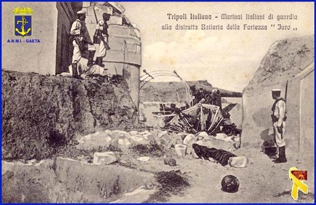 29.9.1911 -18.10.1912 - La guerra italo-turca (f.p.g.c. Carlo Di Nitto per www.lavocedelmarinaio.com)